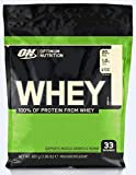 Optimum Nutrition ON Whey Eiweißpulver (Zuckerarmes Protein Shake von ON), Vanilla, 33 Portionen, 0.9kg