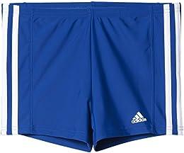 Adidas Essence Costume da Bagno da Bambino, Blu (Collegiate Royal/White),