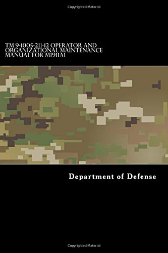 TM 9-1005-211-12 Operator and Organizational Maintenance Manual for M1911A1