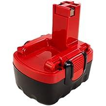 MTEC Batería de herramienta eléctrica 3,0Ah 43,2Wh 14,4V para Bosch 1661 3454 13614 13614-2G,1661K 32614-2G 33614-2G 4VE AHS 41 ART 26 GDR 14.4V GDS 14.4V GHO 14,4V GWS 14,4V O-PACK 14,4V PAG 14.4V PDR 14.4V-N PKS 14.4V PSB 14 PSR 14.4 PST 14.4V Reemplazado: 2607335263 2607335264 2607335275 2607335276 2607335418 2607335431 2607335432 2607335465 2607335528 2607335533 2607335534 2607335678 2607335685 2607335686 2607335694 2607335711 2607335712 2610909013 BAT038 BAT040 BAT041 BAT140 BAT159