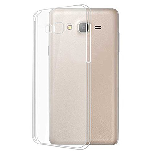 Accedere Premium Transparent clear white Silicon Flexible Soft TPU Slim Back Case Cover For Samsung Galaxy On7 Pro  available at amazon for Rs.99