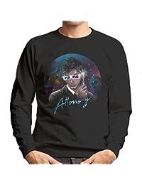Cloud City 7 Doctor Who David Tennant Allons Y Retro Wave Men's Sweatshirt