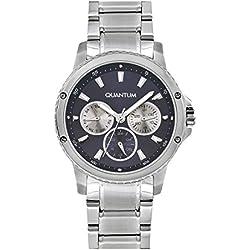 QUANTUM Mädchen-Armbanduhr Impulse Chronograph Quarz Edelstahl IML463.390