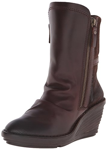 Fly London Simi Women's Boots - Brown (Dark Brown/Expresso), 5 UK