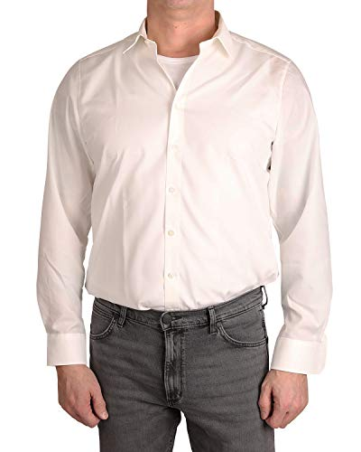 Marvelis Hemd Body Fit creme, Kragenweite:38 (Bekleidung Creme De)
