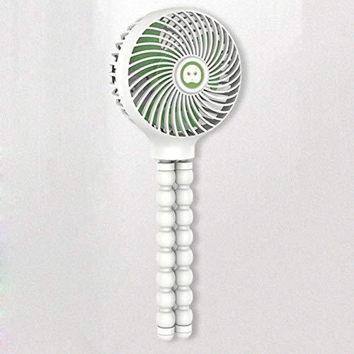 Gmxop Portable USB Mini Clip-on Desk Fan Handheld Fan for Baby Stroller Travelling Hiking Climbing -
