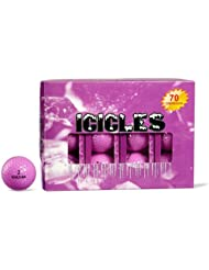 ICICLES Women's V Golf Ball, Lavender by Icicles
