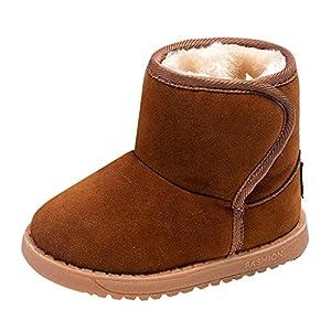 fuxinhe Winter Kinderschuhe Abriebfeste Schnee Stiefel Plus Dicke Warme Samtschuhe Jungen Baumwolle Schuhe Mädchen Wasserdichte Leichte Stiefel