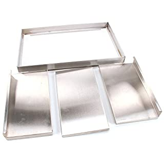 APW Wyott 4825950 3-Piece Cold Well Cover Lid Kit
