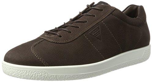 Ecco Herren Fleecy 1 Men's Sneaker, Braun (Coffee), 43 EU