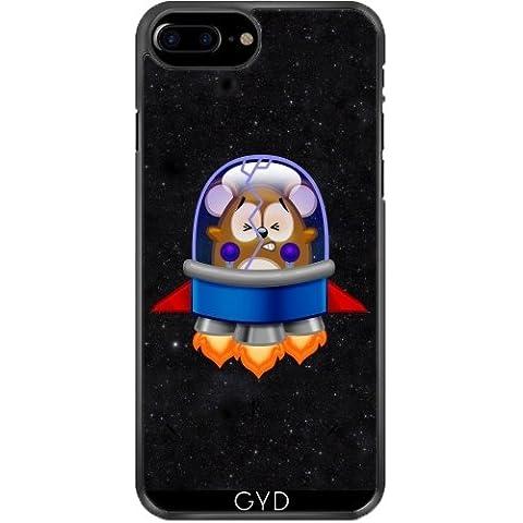 Funda de silicona para Iphone 7/7S Plus - Jerbo De Cristal Agrietado Espacio- by Cadellin