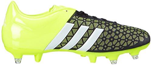 adidas Control SG Herren Fußballschuhe Mehrfarbig (Core Black/Ftwr White/Solar Yellow)