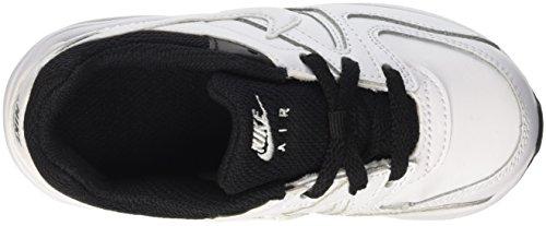 Nike Air Max Command Flex Ltr Td, Chaussures Mixte Bébé Blanco (White / White-Black)