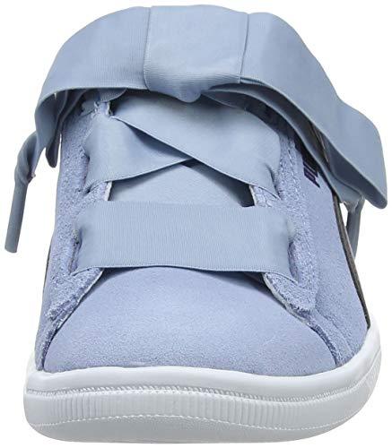 Puma Girls Vikky Ribbon AC PS Low-Top Sneakers  Cerulean-Peacoat  11 UK 11 UK