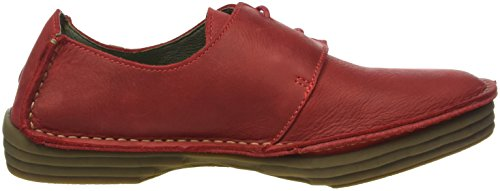 El Naturalista Nf80 Pleasant Rice Field, Ballerines Derby Femme Rouge (Tibet)