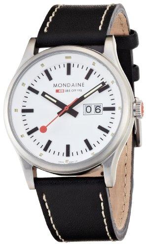 Mondaine Herren-Uhren Quarz Analog A669.30308.16SBB