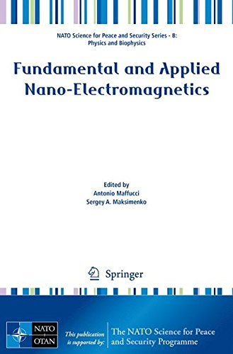 Fundamental and Applied Nano-Electromagnetics (NATO Science for Peace and Security Series B: Physics and Biophysics)