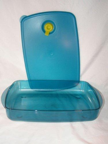 Tupperware Vent N Serve Large Shallow 6 cups Blue by d'occasion  Livré partout en Belgique