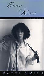 Early Work 1970-1979: Patti Smith