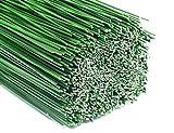 2,5kg Steckdraht Blumendraht Bindedraht grün 0,9x400mm