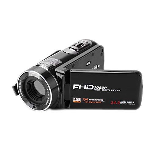 Touchscreen-Kamera, Digitale Videokamera HD 24 Millionen Pixel 3,0-Zoll-16-fach-Digitalzoom-Display mit drahtloser Fernbedienungskamera Linie Multifunktions-Startseite, Reise Point-and-shoot-tv