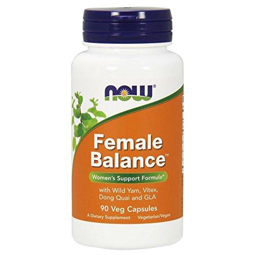 Now Foods Female Balance, 90 Caps mit Vitex agnus castus , Wild Yam , Dong Quai , Borage Oil