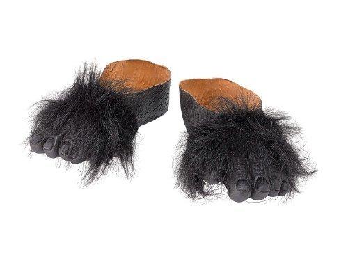 5Gorilla Füße, eine Größe (Haloween Schuhe)