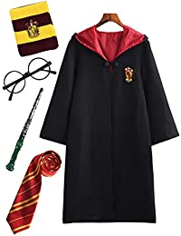 9dddc26506d Lonly hero Enfants Adultes Déguisement Harry Potter Hermione Gryffondor  Granger Uniforme Outfit Set Baguette Cravate Écharpe