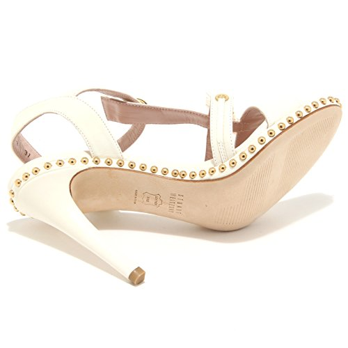 5560M sandali donna STUART WEITZMAN teeshot scarpe women heels sandals shoes Bianco