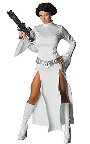 r Wars) Kostüm costume Fancy Dress Costume Karneval Halloween (Prinzessin Leia Halloween Kostüme Für Erwachsene)