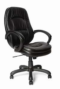 Eliza Tinsley Medium Back Leather Effect Executive Swivel Computer Desk Armchair