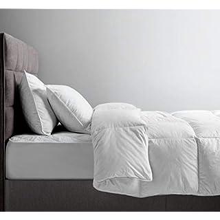 Alpes Blanc Bettdecke aus warmen Daunen und Naturdaunen, leicht, Daunendecke, 140 x 200 cm