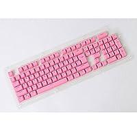 Yeshi Doubleshot PBT Spacebar 104 Keycap Backlight for Cherry MX Mechanical Keyboard (Pink)
