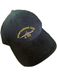 U 30 Unterseeboot gestickt Sandwich Cap Bordcap U-Boot U30 S179 S 179