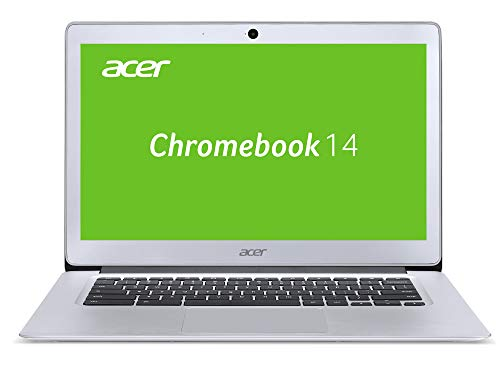 Acer Chromebook 14 (14 Zoll Full-HD IPS matt, Aluminium Unibody, 17mm flach, bis zu 12h Akkulaufzeit, HDMI, USB 3.0, HD Webcam, Google Chrome OS) Silber - 3d-grafikkarte