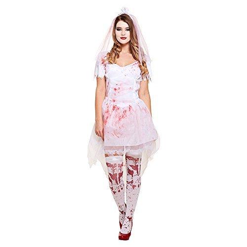 Fancy Me Damen Blutig Geschlagen Corpse Bride Halloween Horror TV Buch Film Unheimlich Kostüm Kleid Outfit 8-10-12