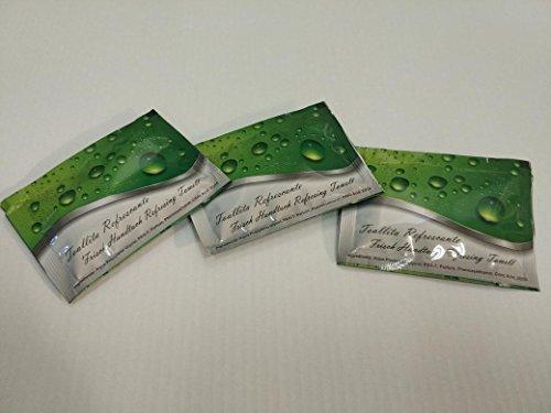 Toallitas húmedas refrescantes CALIDAD SUPERIOR (envase individual, 100 unid./caja)