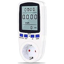 PeakTech LCD Energiemessgerät Energiekostenmessgerät Strommessgerät Stromzähler