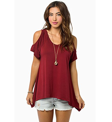 Jollychic - T-shirt - Femme red