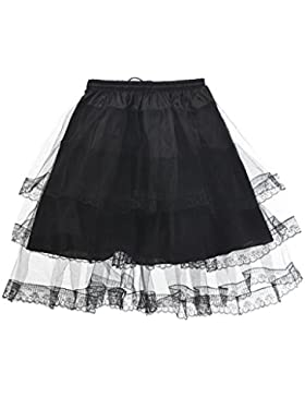 Topwedding Net & Polyester Kinder Petticoat Unterrock reifröcke