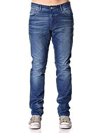 JACK & JONES Herren Jeans Normaler Bund 12069130 CLARK ORIGINAL AT 529