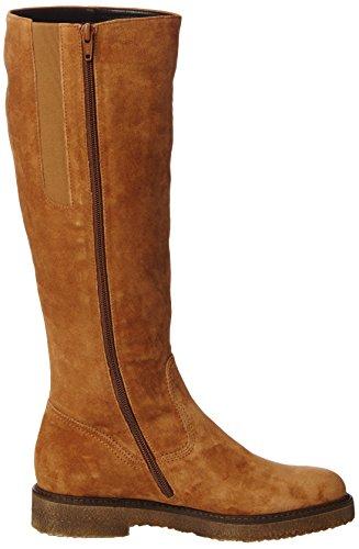 Gabor Fashion, Bottes Cavalières Femme Marron (Copper 12)
