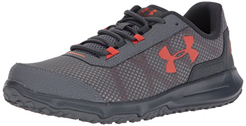 Under ArmourMen's Toccoa Running Shoes - Toccoa scarpe da ginnastica da uomo da uomo Rhino Gray/Anthracite