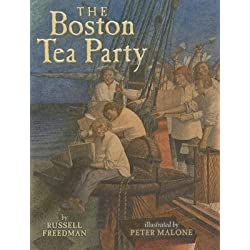 [{ The Boston Tea Party By Freedman, Russell ( Author ) Aug - 01- 2012 ( Hardcover ) } ]
