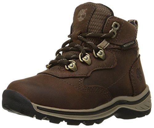 Timberland White Ledge Waterproof Hiker (Toddler/Little Kid/Big Kid),Brown/Brown,1 M US Little Kid Brown/Brown