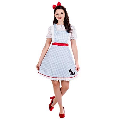 Für Dorothy Aus Kostüm Oz Erwachsene - Fun Shack Damen Costume Kostüm, Classic Dorothy, Größe S
