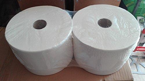 Bobina de papel industrial 1000 mts. doble capa (2 unidades)