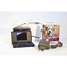 Nintendo DS Lite Konsole schwarz mit Nintendogs Dalmatiner inklusive Ladekabel und Stift