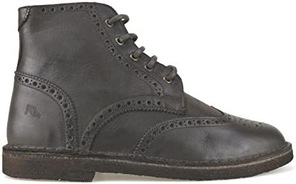 Zapatos Hombre Lumberjack 42 EU Botines Marrón Oscuro Cuero AJ73-B