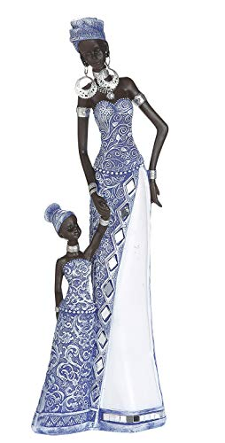 Dreamlight Escultura Moderna Deco Figura Mujer Africana